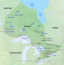 Blank Physical Map Of Russia by Geography Blog Maps Of Ontario