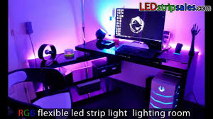 led lights for room modern interior design with colorful led