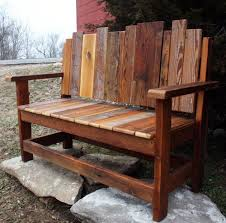 Wood Bench Plans Indoor by Best 25 Rustic Outdoor Benches Ideas On Pinterest Log Chairs