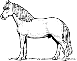 horse coloring pages itgod me