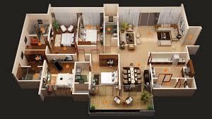 Simple 4 Bedroom Floor Plans Wonderful Simple House Plans 4 Bedrooms Throughout Bedroom