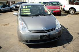 2005 toyota prius hybrid 4dr gray sedan sale