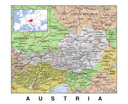 Detailed Map Of Germany by Maps Of Austria Detailed Map Of Austria In English Tourist Map