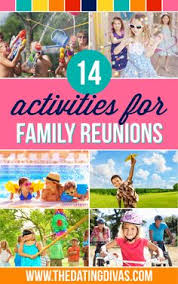 All of these fun activities would be perfect for our next family reunion   www