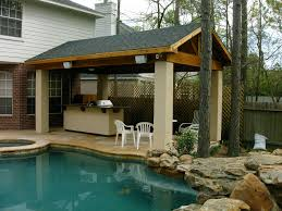 Simple Covered Patio Designs by Backyard Retreats Houston U0027s Covered Patio Builder