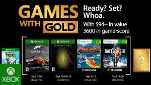 xbox september 2017 games with gold youtube