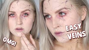 easy beginners vein tutorial zombie veins halloween makeup