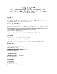 resume summary of qualifications example cna resume templates and get inspiration to create a good resume 5 sample of cna resume resume cv cover letter cna resume samples