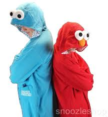 Cookie Monster Halloween Costumes by Onesie Cookie Monster Hoodie Animal Kigurumi Costume Pyjama