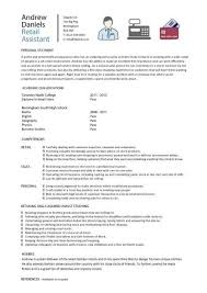 Simple Resume Examples For Students by Student Resume Examples Graduates Format Templates Builder