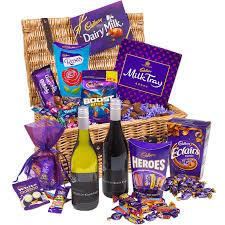 cadbury chocolate wine hamper cadbury gifts direct
