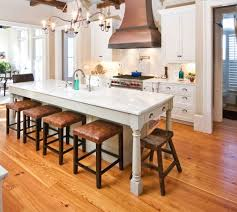 Kitchen Islands With Tables A Simple But Very Clever Combo - Table in kitchen