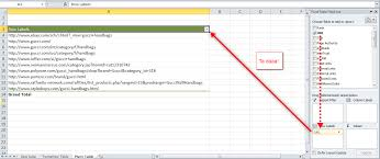 how to manage big data with pivot tables