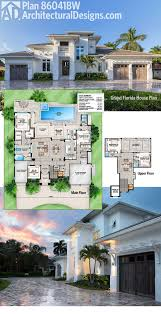 plan 86041bw grand florida house plan architectural design architectural designs house plan 86041bw has an open floor plan and indoor outdoor living with