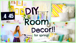 diy room decor for spring 2015 easy decorations for cheap youtube