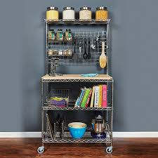 rolling kitchen carts islands and storage racks storables