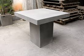 Concrete Dining Room Table Big Dining Room Table Home And Furniture