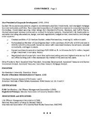 Insurance Executive Resume Example Resume Resource