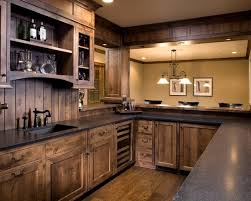 Kitchen Cabinets Stain 15 Interesting Rustic Kitchen Designs Wood Kitchen Cabinets