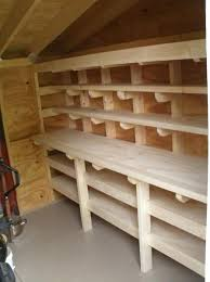 the 25 best shed shelving ideas on pinterest tool shed