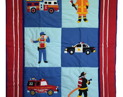 bedding set bd tptx amazing fire truck toddler bedding 3pc