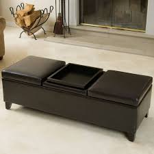 Costco Living Room Brown Leather Chairs Home Tips Costco Ottoman For Complete Your Living Space In Style
