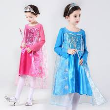 Elsa Halloween Costume Girls Compare Prices Elsa Halloween Costumes Shopping Buy