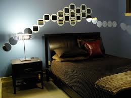 Bedroom Ideas With Blue And Brown Cool Male Bedroom Decorating Ideas With Masculine Design Also