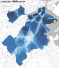 T Boston Map by Mapping Neighborhoodness U2013 Andy Woodruff U2013 Medium