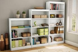 amazon com south shore axess collection 4 shelf bookcase pure