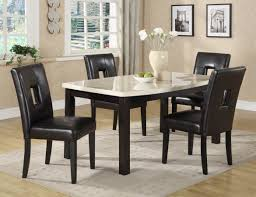 Black And White Dining Room Chairs Floor Dining Table