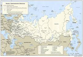 Former Soviet Union Map Russia