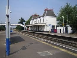 Langley railway station