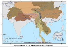 Hydrology Map Tibet Environment And Development Impact On River Hydrology In