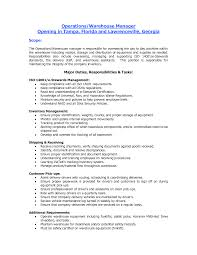 Sample Of Warehouse Worker Resume by Sample Resume For Warehouse Worker Free Resume Example And