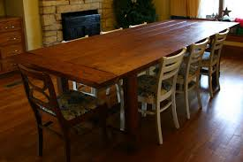 how to make a rustic dining table u2014 interior home design