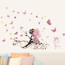 online get cheap girly wall stickers aliexpress com alibaba group
