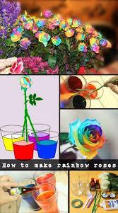 Rainbow Wedding Centerpieces by Best 25 Rainbow Flowers Ideas On Pinterest Rainbow Roses