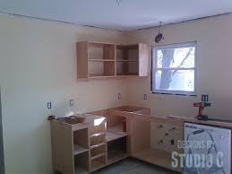 How To Install Kitchen Cabinets by Installing Cabinets In The Kitchen U2013 Designs By Studio C