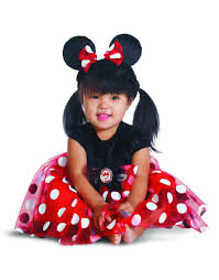 Halloween Costumes 12 18 Months Red Minnie Mouse Infant Halloween Costume Walmart