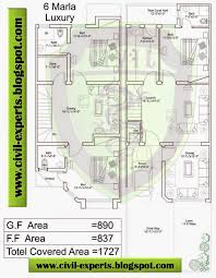 civil experts 6 marla houses plans drawing room 1 kitchen 2 tv