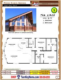 Home Floor Plans And Prices by Prow Cabin Series From All American Homes Modular Home Plan Cabin Book