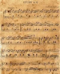 antique halloween background buy an itunes gift card print some sheet music and shred it as
