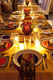 a beautiful african table setting african recipes pinterest