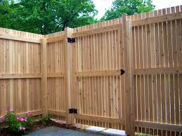 decoration amusing types wooden fences fence wood country