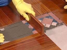 Hardwood And Laminate Flooring How To Install A Mixed Media Floor How Tos Diy