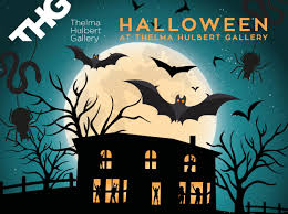 halloween party thelma hulbert gallery