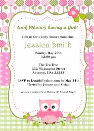 Baby Shower Invitation Cards Templates Owl Themed Baby Shower Invitations Theruntime Com
