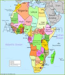 Map Of Kenya Africa by Africa Map Political Map Of Africa With Countries Annamap Com