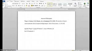 Example of an annotated bibliography for a research proposal Read more